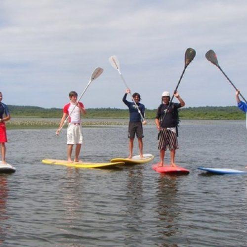 le-paddle-au-lac-de-soustons
